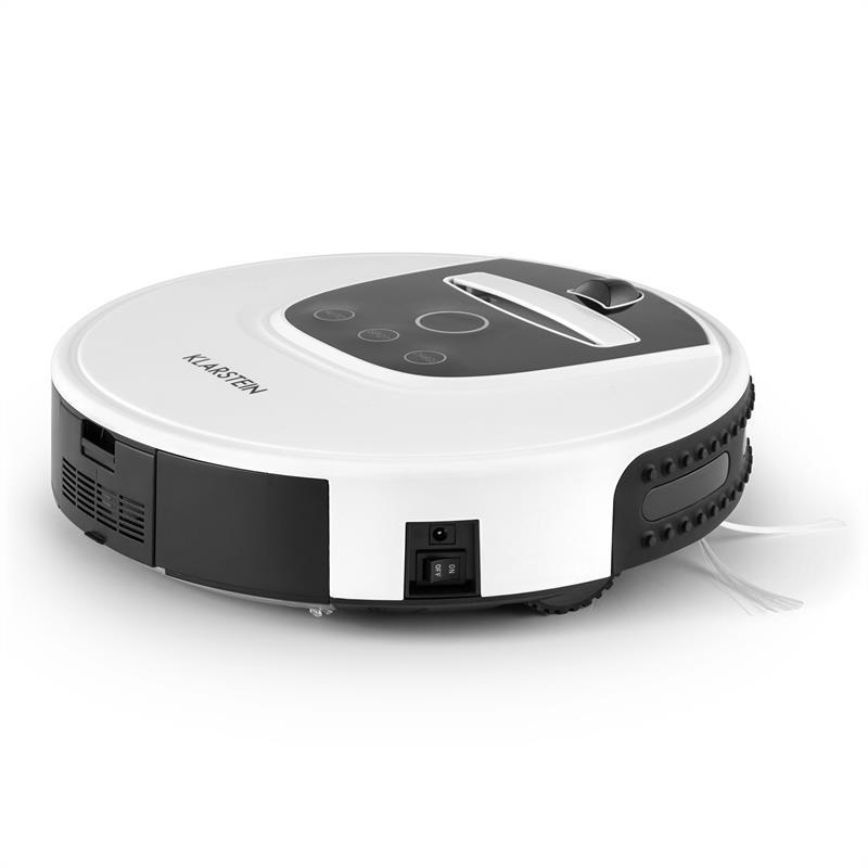 Вакуумный робот-пылесос Klarstein Clean Hero White 324DM80M
