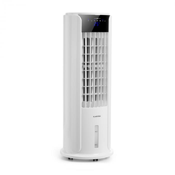 Вентилятор, охладитель, мойка воздуха Klarstein Horizon, 60 Вт, 486 м³ / ч, бак 3,5 л White V2075DM