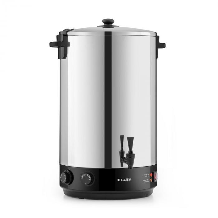 Диспенсер для напитков Klarstein KonfiStar 50 2500W 50L 110 ° C 120 минут таймер нержавеющая сталь VTA0