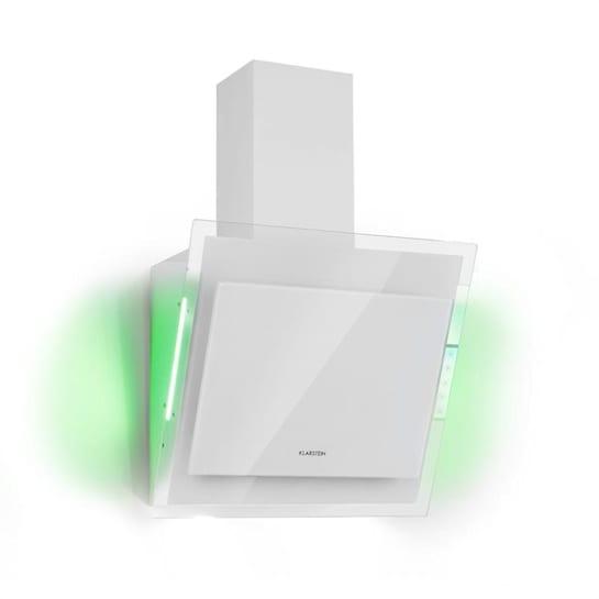 Кухонная вытяжка Klarstein Mirage 60 550 м³ / ч сенсорная панель RGB освещение WH