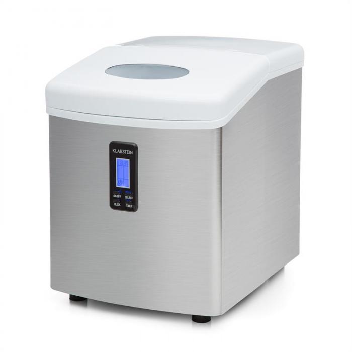 Генератор льда Klarstein Mr. Frost 150 Вт из нержавеющей стали 15 кг Silver