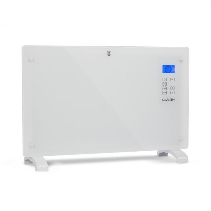 Конвекционный обогреватель Klarstein Norderney Термостат Timer 2000W 30m² White DMNPNL