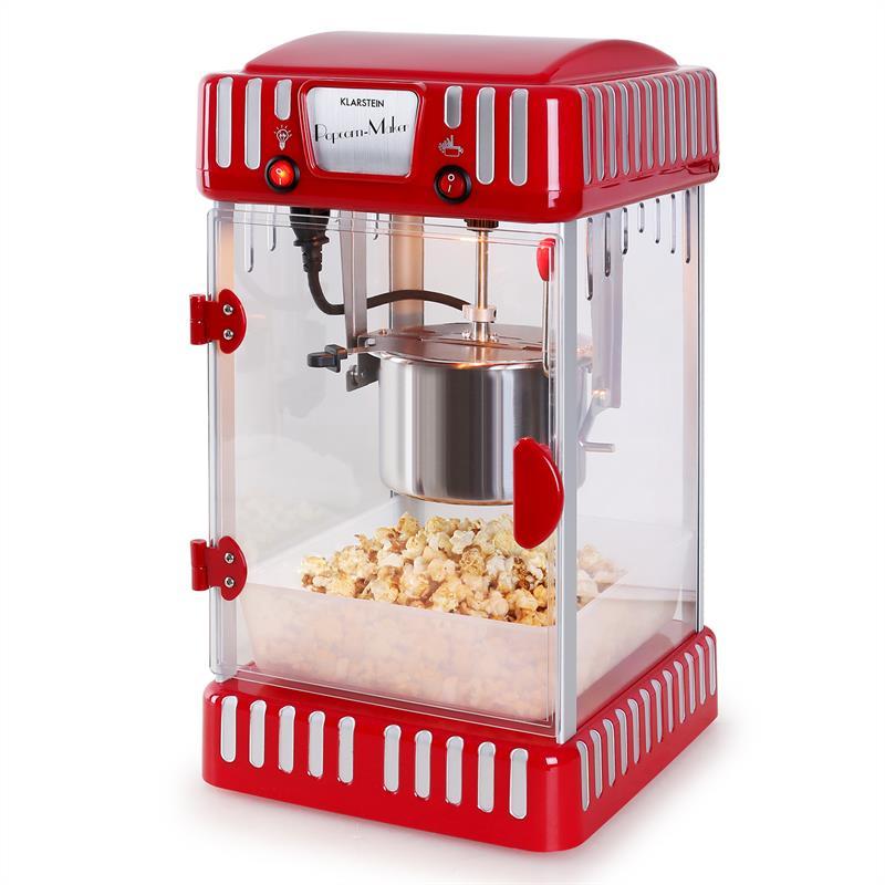Портативная попкорн машина Klarstein Volcano Popcornmaschine 300W DMUSBRN1NP