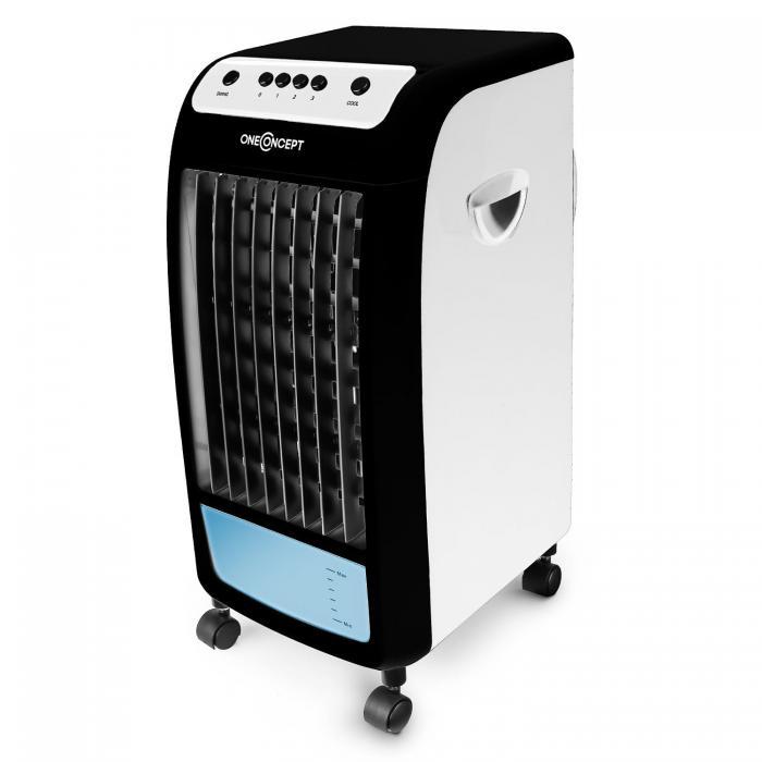 Воздушный охладитель, освежитель воздуха OneConcept Caribbean Blue 70W BLK V1132FVTLILSCR