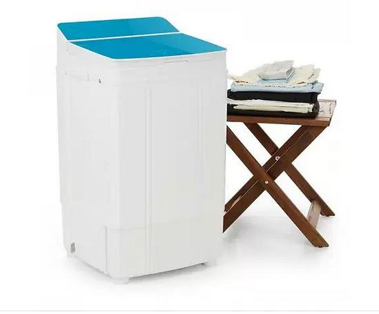 Мини-стиральная машина OneConcept Ecowash Deluxe 4 290W 4kg таймер Blue