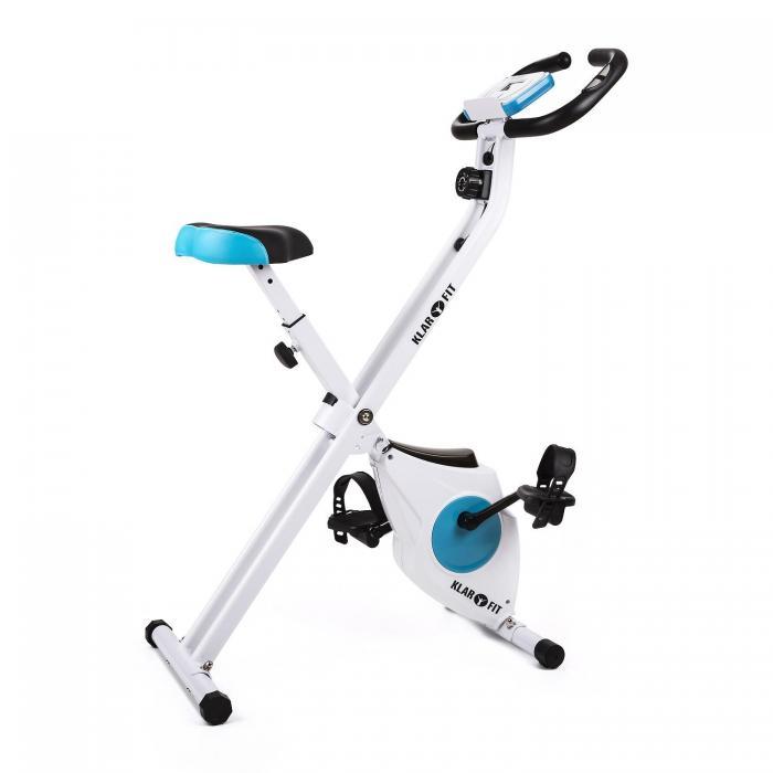 Велотренажер Klarfit Azura Comfort 100кг White