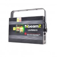 Красно-зеленый лазер BeamZ LS-FBRG15 Fat Beam световые эффекты DMX