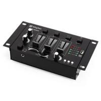 3/2-канальный микшер Skytec STM-3020 DJ-микшер MP3 USB-вход VTV1