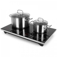 Двойная индукционная варочная плита Klarstein VariCook XL 3100 Вт Таймер 240 ° C Touch VTFLL