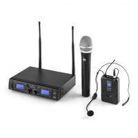Комплект беспроводных микрофонов Malone Duett Pro V3 Funkmikrofon-Set с  диапазоном 50 м