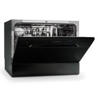 Посудомоечная машина Klarstein Amazonia 6, A + 1380W 6 комплектов посуды Black VTDMM10/11