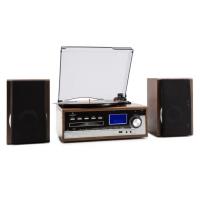 Музыкальный центр ретро-стереосистема Auna Deerwood USB MP3 кодирование CD Tape FM AUX
