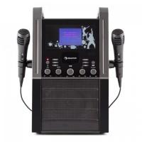Караоке-система AUNA KA8P-V2 BK CD-плеер AUX 2 x микрофон Black