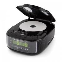 Радио часы Auna Dreamee SL радио с CD-плеером FM / MW AUX Black