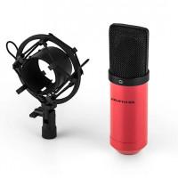 Конденсаторный микрофон Auna MIC-900RD USB RED VTNW