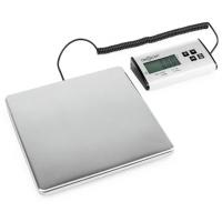 Цифровые весы oneConcept Marketeer 150kg / 50g 27x27cm, работа от батареи или от сети