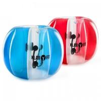 Развлекательный шар-пузырь Klarfit Bubble Ball 120x150 2шт