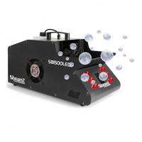 Дым машина, генератор пузырей BeamZ SB1500LED Fog & Soap Bubble Machine 1500W 1.35L Tank RGB LEDs DMX