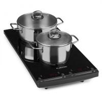 Индукционная плита Klarstein VariCook Slim дизайн 2 конфорки 2900W 60-240 ° C DMUSA20