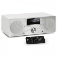 Микросистема Auna Harvard DAB / DAB + FM-тюнер CD-плеер USB WH VT1A20