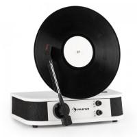 Вертикальный проигрыватель винила Auna Verticalo S ретро дизайн USB MP3-Line White DMLILSCR-8