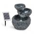 Каскадный фонтан Blumfeldt Murach с батарейным питанием 2 кВт солнечная панель 3 светодиода