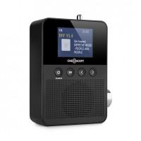 Радиоприемник OneConcept  Plug + Play DAB, FM, BT, TFT дисплей BK