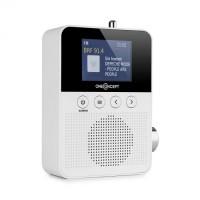 Радиоприемник OneConcept  Plug + Play DAB, FM, BT, TFT дисплей WH