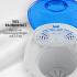 Мини-сушильная машина OneConcept Top Spin Compact 45 Вт с таймером 1,5 кг VTA15