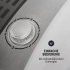 Мини-сушильная машина OneConcept Top Spin Family 3,8 кг с таймером