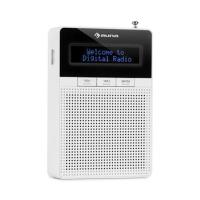 Портативное радио-розетка Auna DigiPlug DAB, FM / PLL, BT, ЖК-дисплей WH