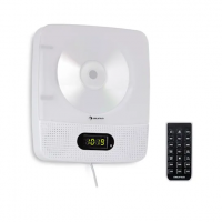 CD-плеер Auna Vertiplay Bluetooth подсветка FM-радио AUX цифровые часы WH USNP