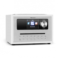 Интернет-радио Auna Silver Star CD Cube Radio Bluetooth HCC дисплей