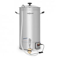 Автоматический бойлер oneConcept Hopfengott 30 литров, циркуляционный насос, 30-140 ° C, нержавеющая сталь