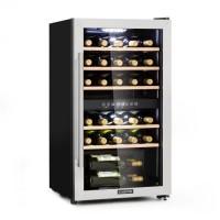 Винный холодильник Klarstein Vinamour 29D 2 зоны 80 литров / 29 бутылок 5-22°C VTDMGA0/T5