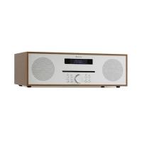 Настольная стереосистема Auna Silver Star CD-FM 2x20 Вт макс. CD-плеер FM BT Alu