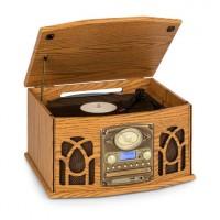 Ретро стерео проигрыватель Auna NR-620 DAB + CD