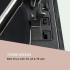 Музыкальный центр ретро-стереосистема Auna Oakland DAB + / FM BT Vinyl CD Tape VTA20