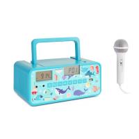 Детский бумбокс Auna Kidsbox CD Boombox CD-Player BT USB LC-Display Fish