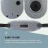Беспроводные стереоскопические наушники Auna Stereoskop InEar 20m 2.4GHz TV / HiFi / CD / MP3 АКБ Grey