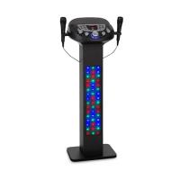 Акустическая караоке система Auna KaraBig LightUp BT 2xMikro Multicolor USB 40W RMS 640W max