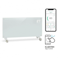 Умный конвекционный обогреватель Klarstein Bornholm Smart 2000 Вт WiFi светодиодный дисплей таймер IP24