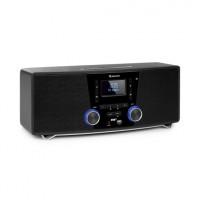 Микро стереосистема Auna Stockton 20 Вт макс. CD DAB + FM BT OLED VT1