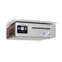 Кухонное радио Auna Silver Star Chef CD BT USB Интернет DAB + / FM 20 Вт WD DMLIL
