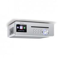 Кухонное радио Auna Silver Star Chef CD BT USB Интернет DAB + / FM 20 Вт WH