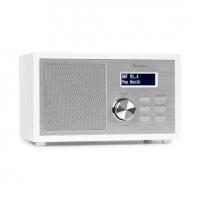 Радиоприемник Auna Ambient DAB + / FM-радио BT 5.0 AUX-In ЖК-дисплей будильник WH