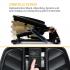 Универсальный степпер CAPITAL SPORTS Galaxy Step с ЖК-дисплеем BK/ORG