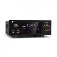 Компактный усилитель Hi-Fi стерео Auna AMP-2 DG 2x50 Вт RMS BT / USB opt/coaxial