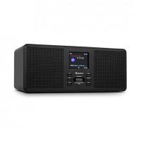 Компактное радио Auna Commuter ST DAB + / FM-радио USB AUX 2,4-дюймовый TFT