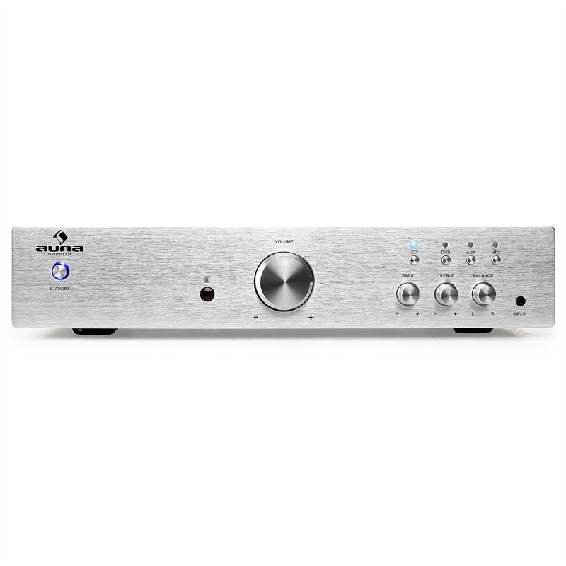 HiFi усилитель  Auna AV2-CD508 600W Silver